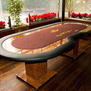 mesa de poker personalizada modelo georgia