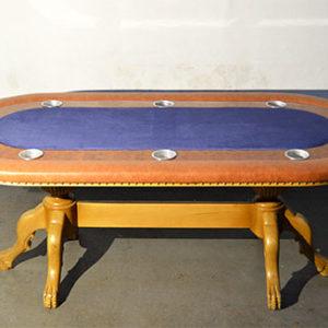 mesa de poker com tampo personalizada modelo queen