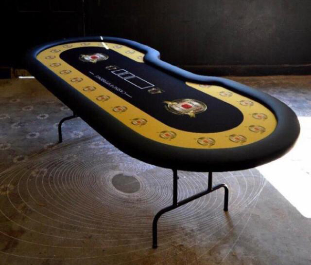 mesa de poker profissional com pe retratil